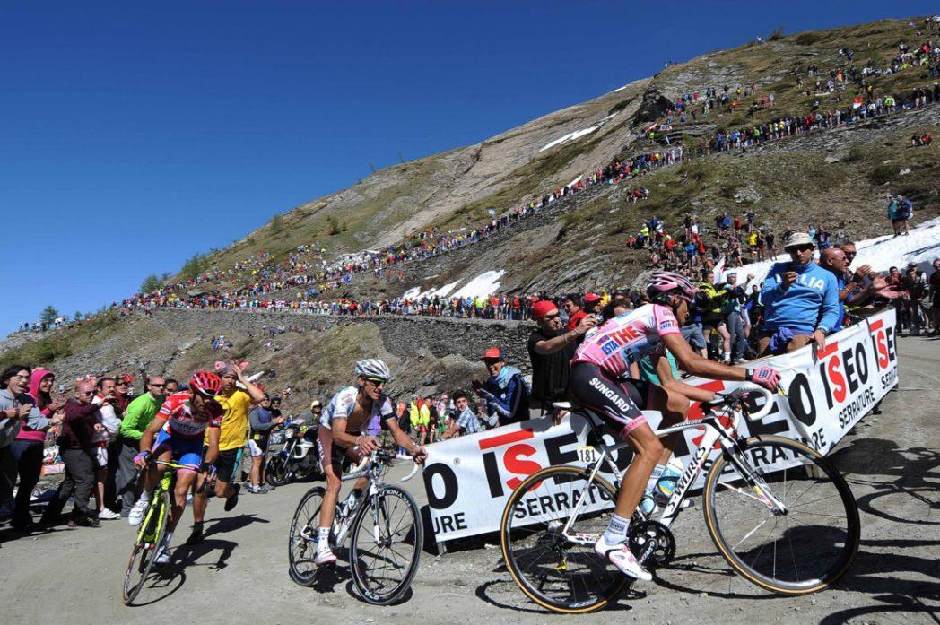 Giro d'italia - tappa del Sestriere del 2011