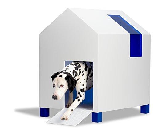 CROMO - Cuccia per cani da esterno, casetta di design per animali domestici