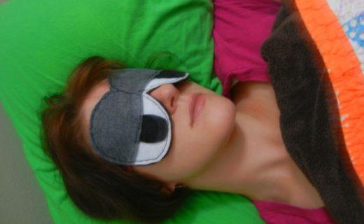 mascherina per dormire
