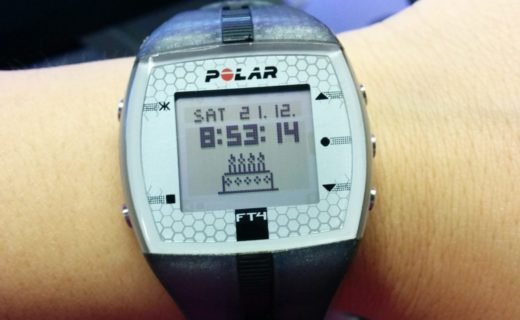 cardiofrequenzimetro polar ft4