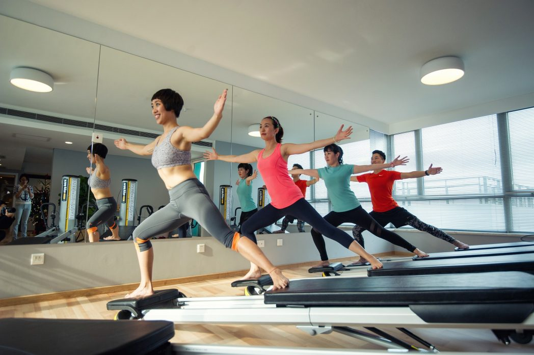 attrezzi pilates - reformer