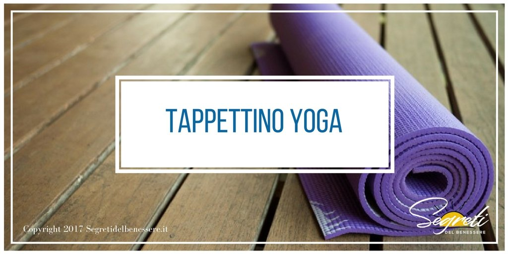 tappettino yoga