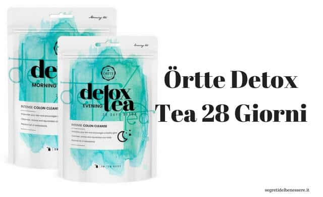 Ortte detox Tea 28 Giorni